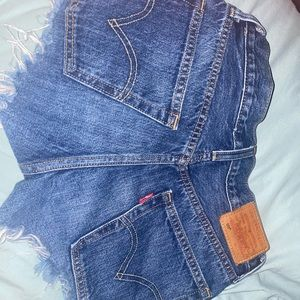 Levi's premium denim shorts 501